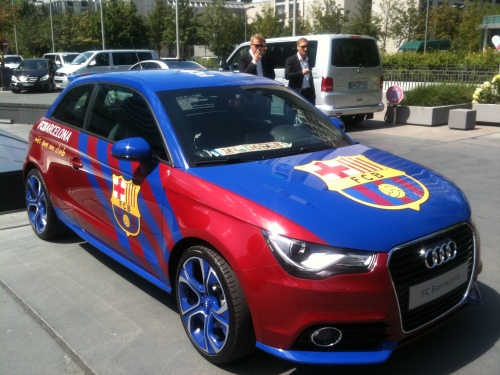 Audi aposta fort pel torneig Audi Cup de Munic